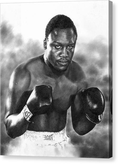 Smokin' Joe Canvas Print