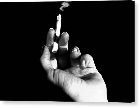 Smokin' Canvas Print