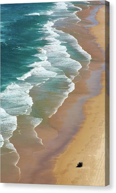 Shore Canvas Print - Smoky Cape by Robert Oates