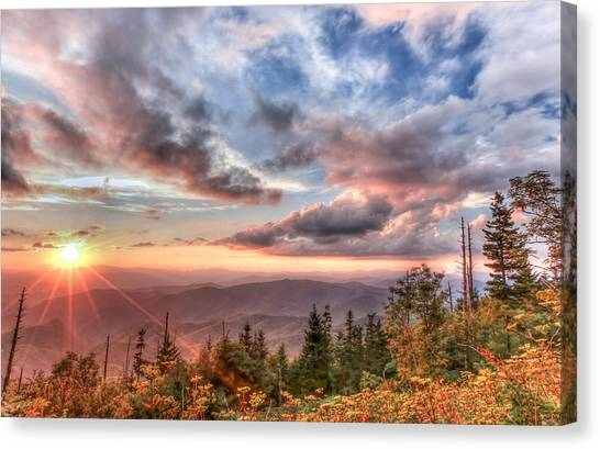 Smoky Mountain Lookout Canvas Print