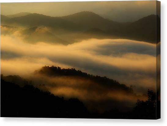 Smoky Mountain Spirits Canvas Print