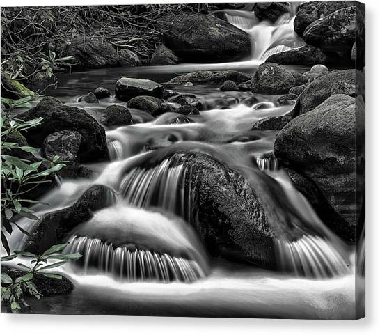 Smoky Mountains Cascades Canvas Print