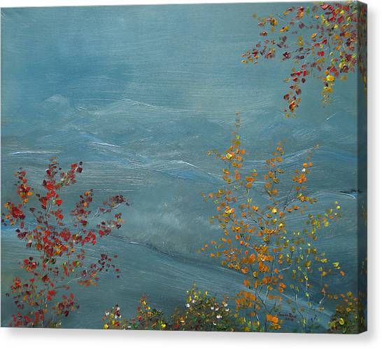 Smoky Mountains In Autumn Canvas Print