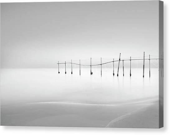 Pier Canvas Print - Smooth by Farshad Boroomand