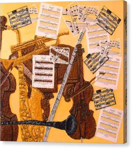 Smooth Jazz Canvas Print