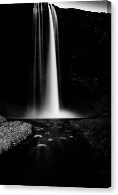 Seljalandsfoss Canvas Print - Smooth Light by Greg Wyatt