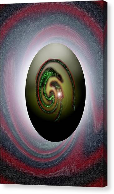 Canvas Print - Snake Egg Eye by Dan Sheldon