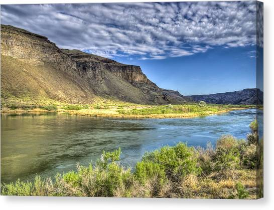 Snake River Afternoon Canvas Print