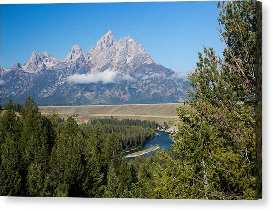 Snake River Overlook Canvas Print