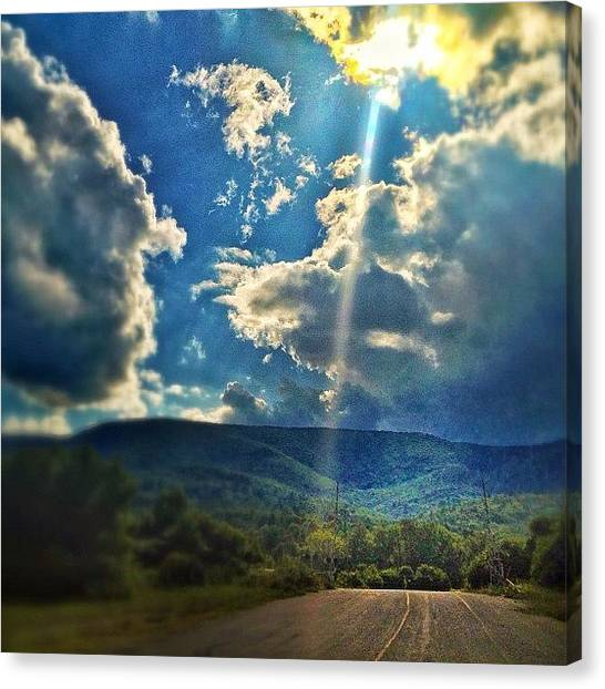Vermont Canvas Print - Snapped This On My Drive Home. I'm by James Whaley Cart