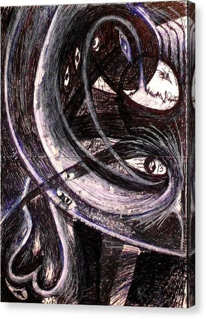 Nsa Canvas Print - Sneden Nacht by Rich Graham