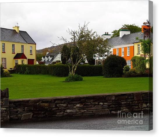 Sneem- Home Of The Blue Bull Canvas Print