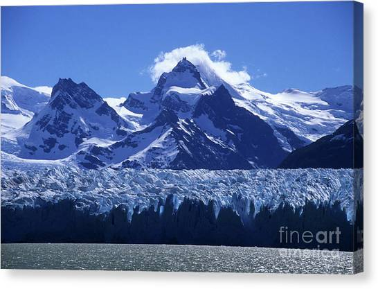 Perito Moreno Glacier Canvas Print - Snow And Ice Perito Moreno Glacier by James Brunker