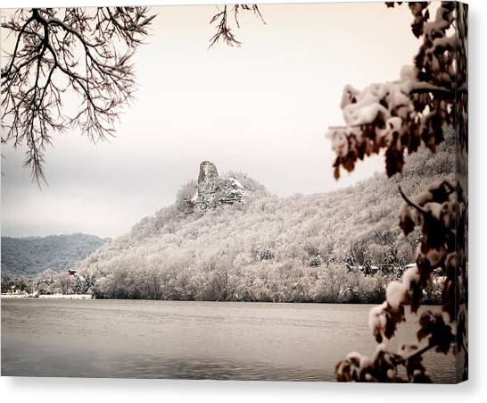 Snow Covered Sugarloaf Canvas Print