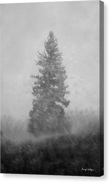 Snow Day Canvas Print by Darryl Gallegos