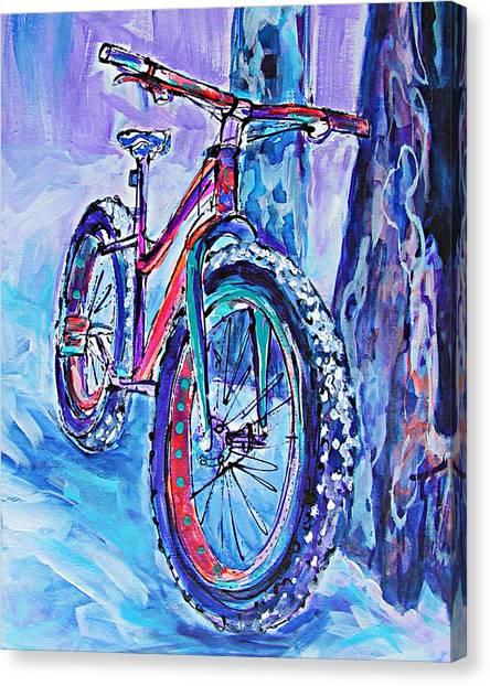 Snow Jam Canvas Print