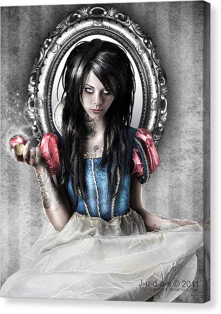 Fairy Canvas Print - Snow White by Judas Art