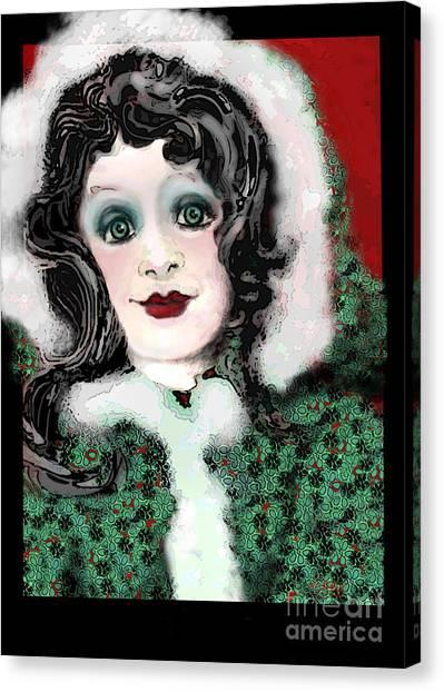 Snow White Winter Canvas Print