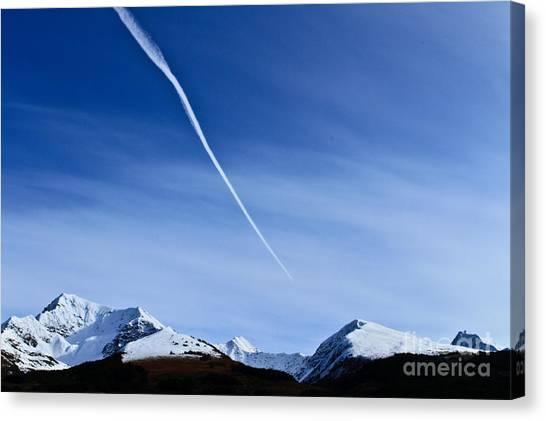 Snowbird Express Canvas Print
