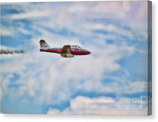 Canvas Print - Snowbirds Number 9 by Cathy Beharriell