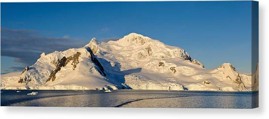 Glacier Bay Canvas Print - Snowcapped Mountain, Andvord Bay by Panoramic Images