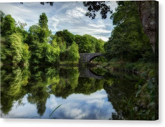 Snowdonia Summer On The River Canvas Print