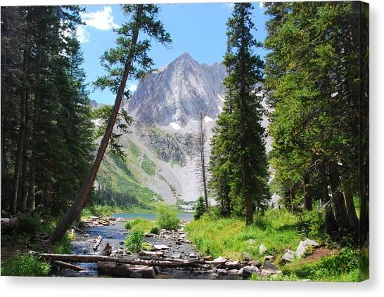 Snowmass Peak Landscape Canvas Print