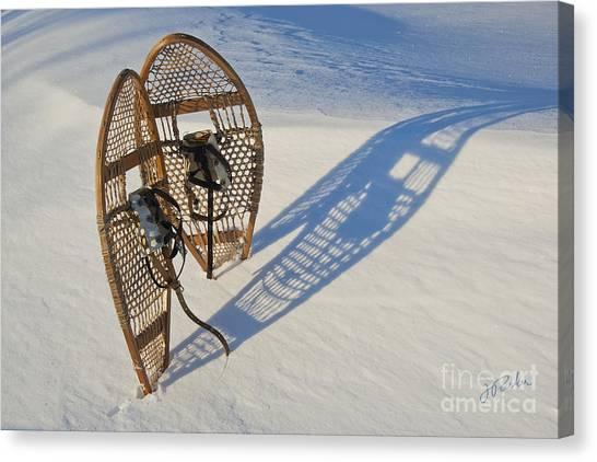 Snowshoes I Canvas Print