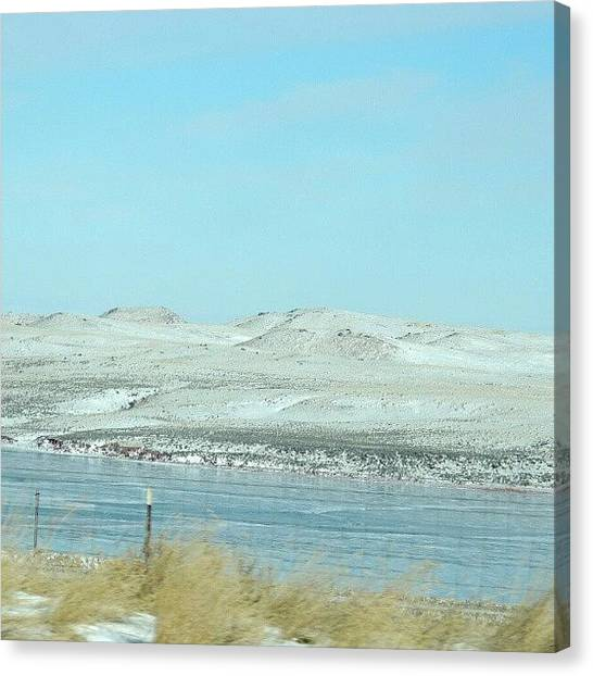 Wilderness Canvas Print - Snowy Wilderness by Kelli Stowe