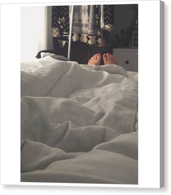 Ponies Canvas Print - Snugged by Pony Thao