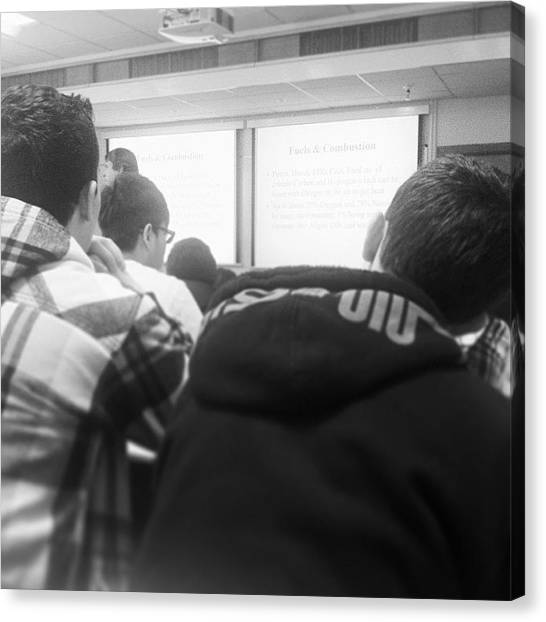 Presentations Canvas Print - So Bored In This Lecture 😐 #bored by John Lowery-brady