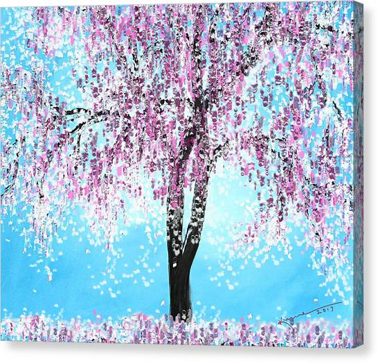 So Spring Canvas Print