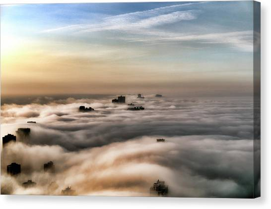 So This Is Heaven Canvas Print