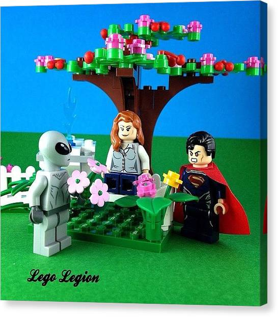 The Legion Canvas Print - So We Have A New Competition At by Lego Legion