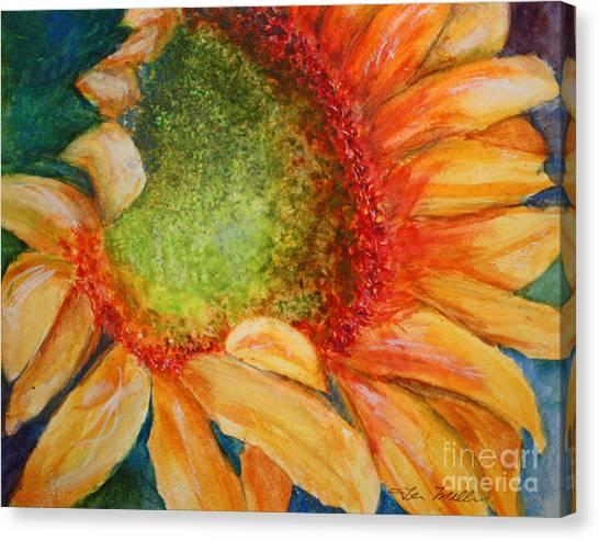 Soaking Up The Sun Canvas Print by Terri Maddin-Miller