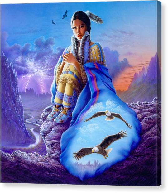 Andrew Canvas Print - Soaring Spirit by MGL Meiklejohn Graphics Licensing