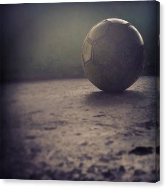 Soccer Teams Canvas Print - #soccer #ball #futbol #tagsforlikes by Robert Jose