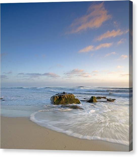 Soft Blue Skies Canvas Print