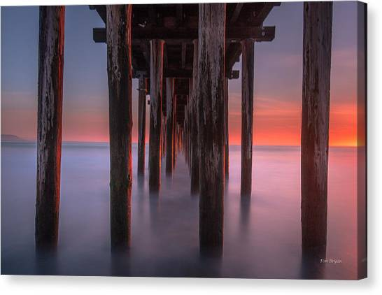 Soft Light From Starboard Canvas Print