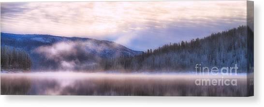 Soft Light Of Winter Canvas Print