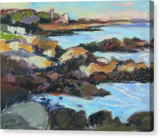 Soft Rocks At Kennebunkport Canvas Print