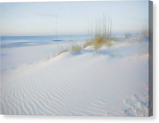Soft Sandy Beach Canvas Print