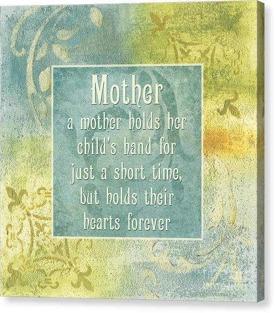 People Canvas Print - Soft Spa Mother's Day 1 by Debbie DeWitt