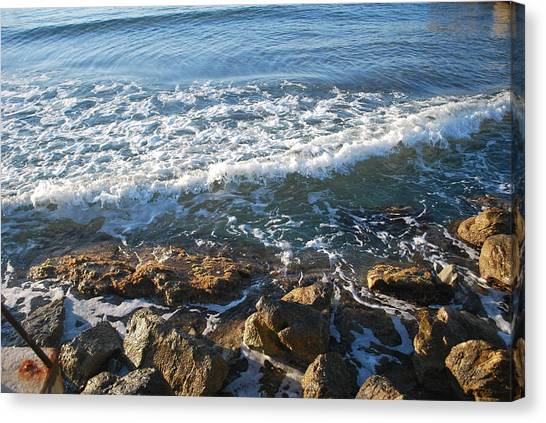 Soft Waves Canvas Print