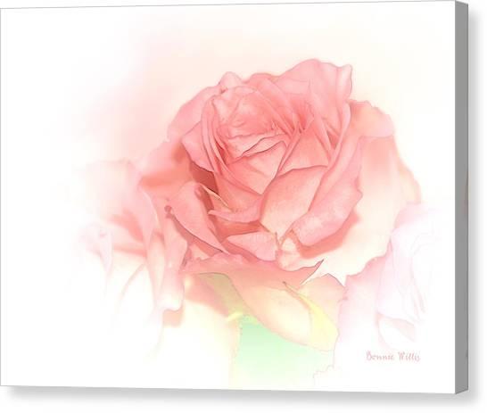 Softly Pink Canvas Print