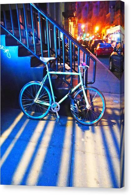 Soho Bicycle  Canvas Print