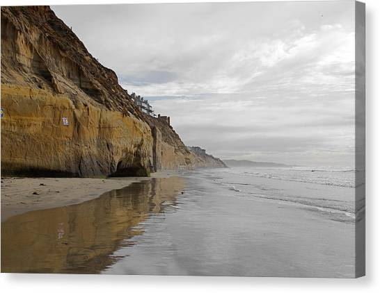 Solana Beach Canvas Print by Viktor Savchenko