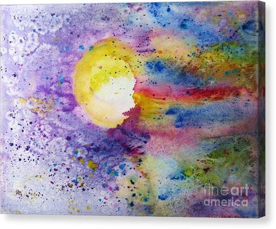 Solar Flair Canvas Print