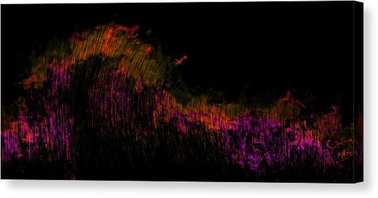 Purple Canvas Print - Solar Flare by Christopher Gaston