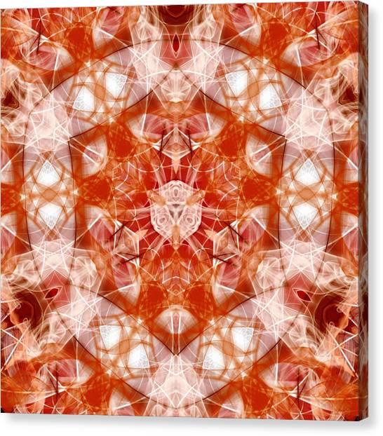 Solar Hypercube Canvas Print